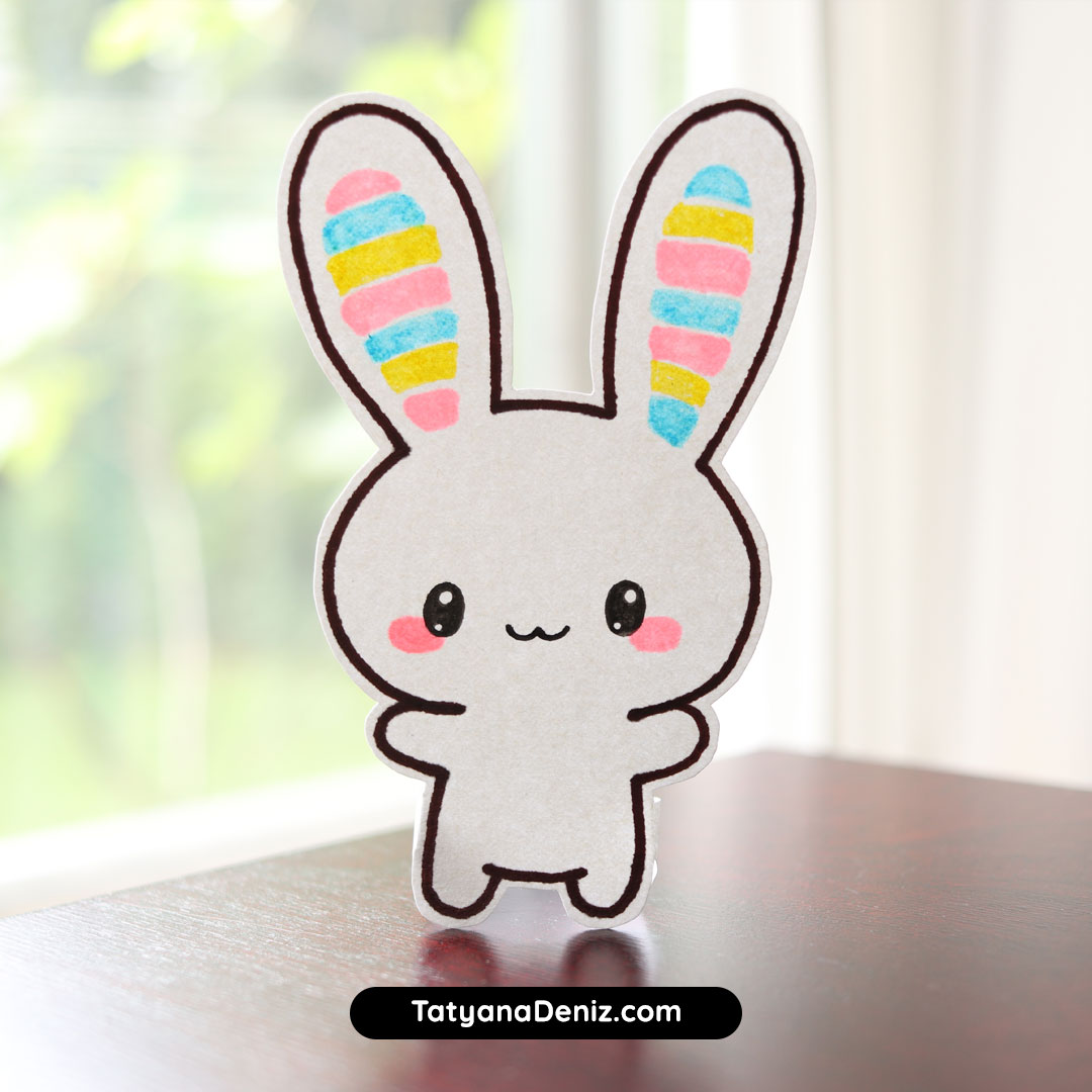 Kawaii bunny craft