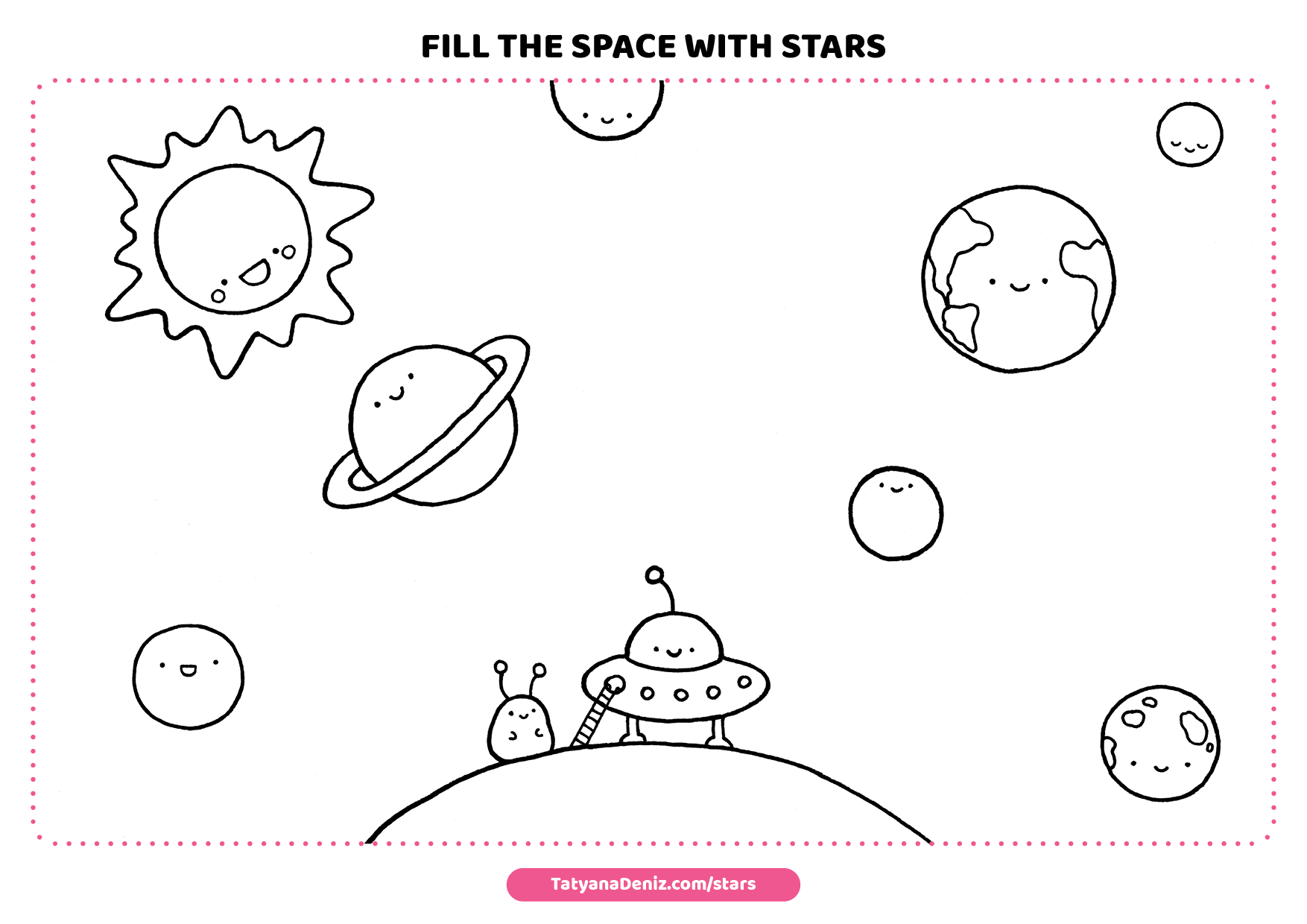 Drawings Stars - Drawing Game by Tatyana Deniz