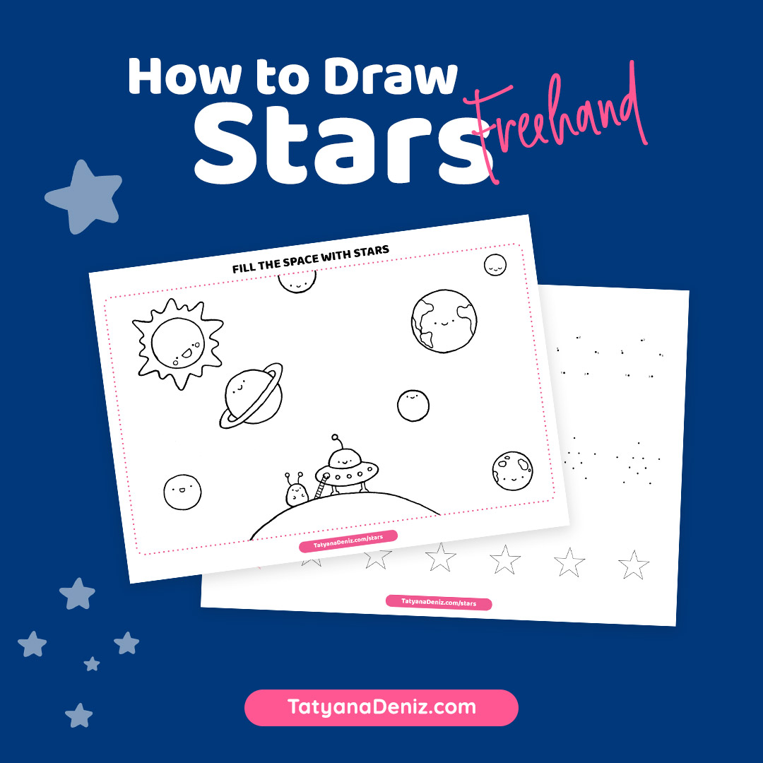 How to Draw a Star Freehand