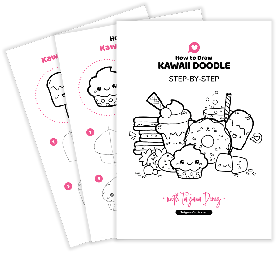 How to draw kawaii doodle with Tatyana Deniz