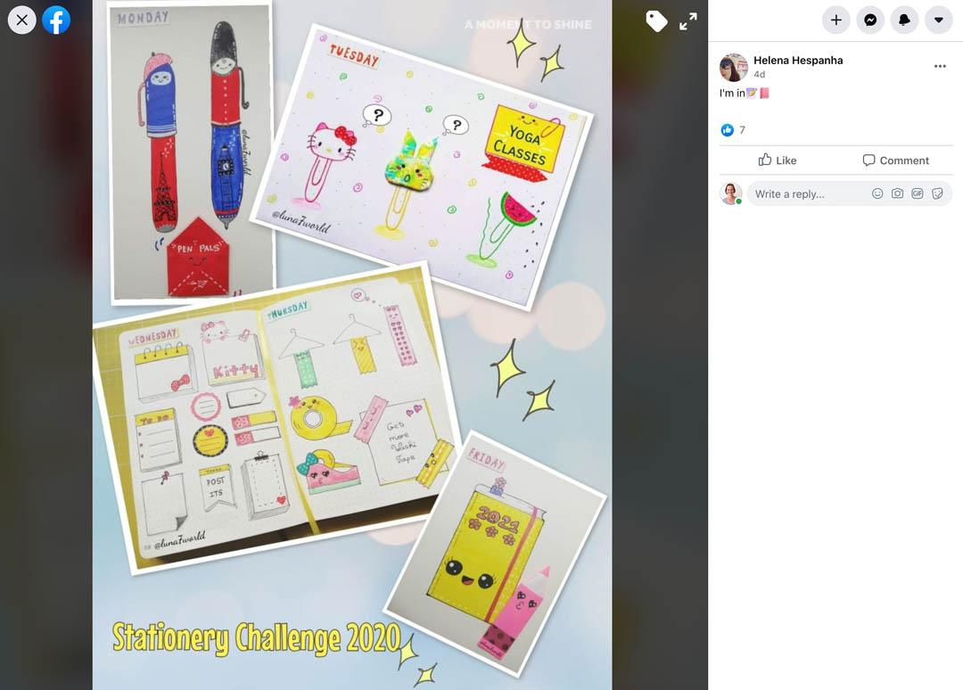 Kawaii Stationery Challenge Entry 5