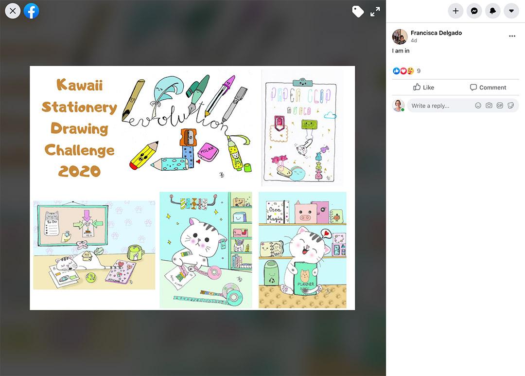 Kawaii Stationery Challenge Entry 15